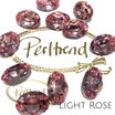 Light Rose Fancy Stone Oval 18 mm x 13 mm