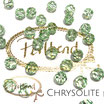Chrysolite Facet Bead 8 mm