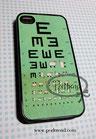iPhone 4/4S Augentest Schafe Schutzhülle