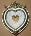 Swarovski Strass Heart CrystalAB 28mm