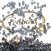 Light Sapphire Satin Bicone Bead 4 mm