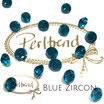 Blue Zircon Xilion Chaton Round Stone 8 mm