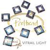 Crystal Vitrail Light Fancy Stone Square Ring  14 mm