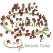 Smoked Topaz Bicone Bead 4 mm