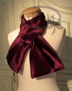 Kragen Schal Bordeauxrot