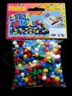 Hama Stick Mosaik Perlen mix