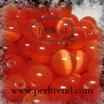 Katzenauge Glasperle Rot 8mm