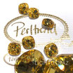Light Topaz Fancy Stone Round Square Cushion  12 mm
