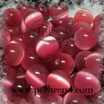 Katzenauge Glasperle Rosa 8mm