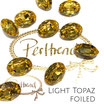 Light Topaz Fancy Stone Oval 18 mm x 13 mm