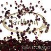 Siam Dorado Bicone Bead 4 mm