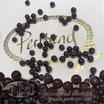 Edelstein Granat dunkelrot rund 4 mm