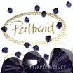 Purple Velvet Bicone Bead 6 mm