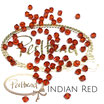 Indian Red Bicone Bead 4 mm