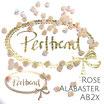 Rose Alabaster AB 2x  Bicone Bead 4 mm