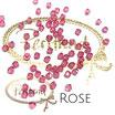 Rose Bicone Bead 4 mm