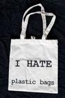 I hate plastic bags