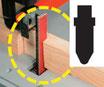 A25   Schleif-Blitz für Stichsägen T-Schaft Typ BOSCH