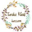 Tunika Kleid kurzarm