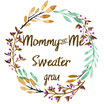 Mommy & Me Sweater grau