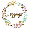 "Leggings ""eisblau"""