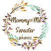 Mommy & Me Sweater schwarz