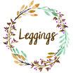 """Leggings """"Frühlingsblumen graphit"""""""