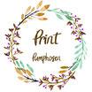Print für Pumphosen