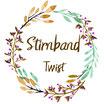 "Stirnband Twist ""Rainbows rosé"""