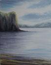 """""""Eclaircie sur le Loch"""" - Axelle Ardurat"""