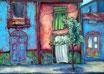 """"""" La maison bleue """" -  Marie Bertrand"""