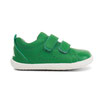 Step up : chaussures cuir vert, Bobux