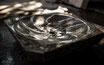 Ammonit-Waschbecken