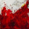 Abstraktes Rot