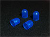 Bulb caps:blue