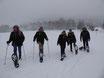 Schneeschuhtour kurz (Familien- oder Entdecker Tour 1,5 Std.)