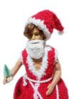 Klopapierhut: Sexy Santa, handgemacht