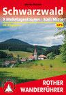 Rother Wanderführer - Schwarzwald 9 Mehrtagestouren Süd/Mitte