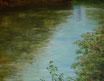 Die Saale - Format: 70 x 90 cm - Acryl auf Leinwand