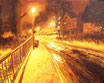 Philosphenweg - Format: 40 x 50 cm - Acryl auf Leinwand