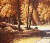 Hochsommer - Format: 50 x 60 cm - Acryl auf Leinwand