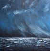 Das Meer - Format: 90 x 90 cm - Acryl auf Leinwand