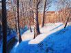 An der Leutra - Format: 60 x 80 cm - Acryl auf Leinwand