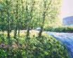 Rasenmühleninsel - Format: 24 x 30 cm - Acryl auf Leinwandbogen