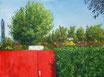 Im Garten - Format: 60 x 80 cm - Acryl auf Leinwand