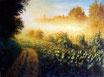Morgennebel - Format: 60 x 80 cm - Acryl auf Leinwand