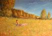 Sommer - Format: 70 x 100 cm - Acryl auf Leinwand