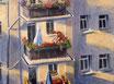 Sommerabend - Format: 60 x 80 cm - Acryl auf Leinwand