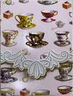Carol  Memopad EMBPUR23「Tea Cup」