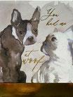 PS Memopad 46709「DOG Duo」